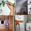 Декорируем холодильник – общее дело для всей семьи