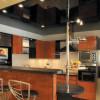 Натяжные потолки для кухни. А практично ли это?