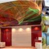 Каким бывает дизайн натяжного потолка