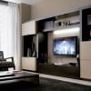Телевизор на стене. Как красиво и правильно вписать в интерьер