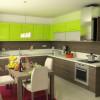 Кухни зебрано: стильные полоски в интерьере