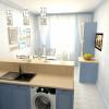 Дизайн узкой кухни: избавляем кухню от туннельного синдрома
