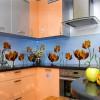 Фартуки из стекла: насколько надежны стеклянные стеновые панели для кухни?