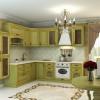 Кухня фисташкового цвета — «крепкий орешек»!