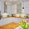 Милая иностранка — кухня в скандинавском стиле