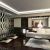 Дизайн интерьера темной комнаты