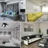 Харизматичная и элегантная черно-белая гостиная: как правильно оформить?