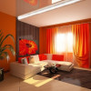 Сплошной позитив, или оранжевая гостиная
