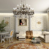 Большая гостиная в дворцовом стиле