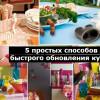 5 отличных способов для быстрого обновления интерьера кухни