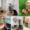 Мебель из пеньков: оригинальные изделия в стиле эко (галерея)