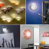Необычные настенные светильники