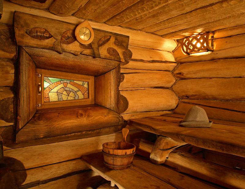 Фото интерьер бани внутри