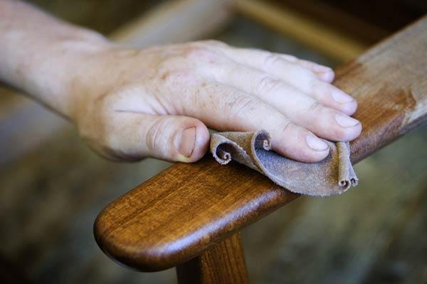 Полированная мебель своими руками