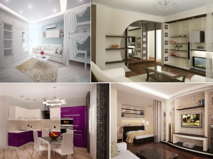 Как сделать перепланировку однокомнатной квартиры