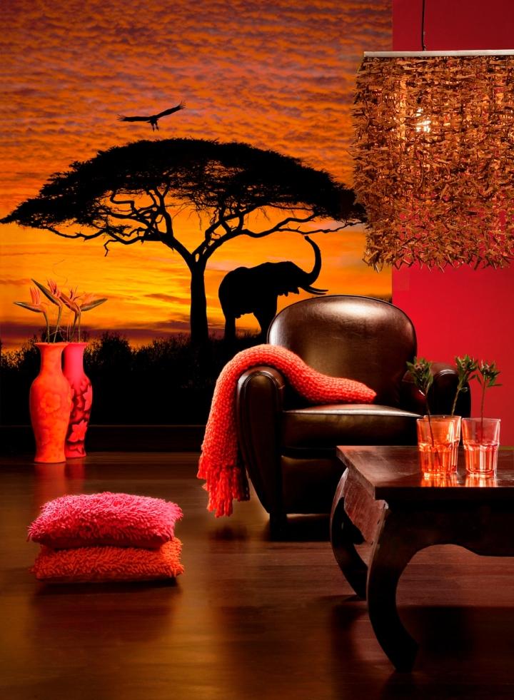 Фотообои в африканском стиле