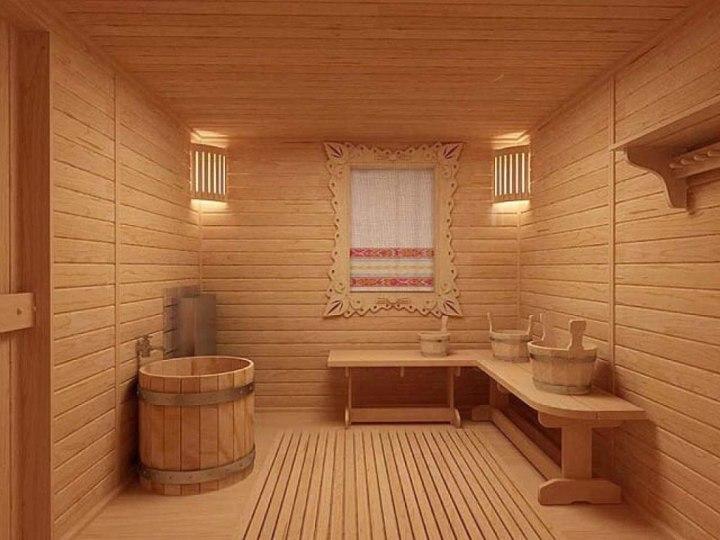 Пол в бане