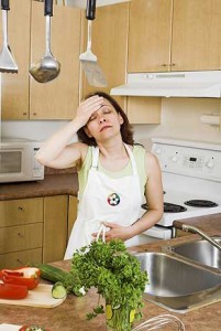 на кухне жарко