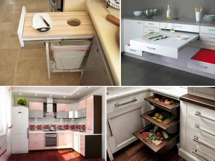 Подборка фотографий малогабаритных кухонь