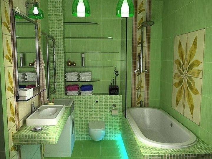 Свежая ванная