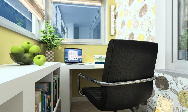 Маленький уютный кабинет