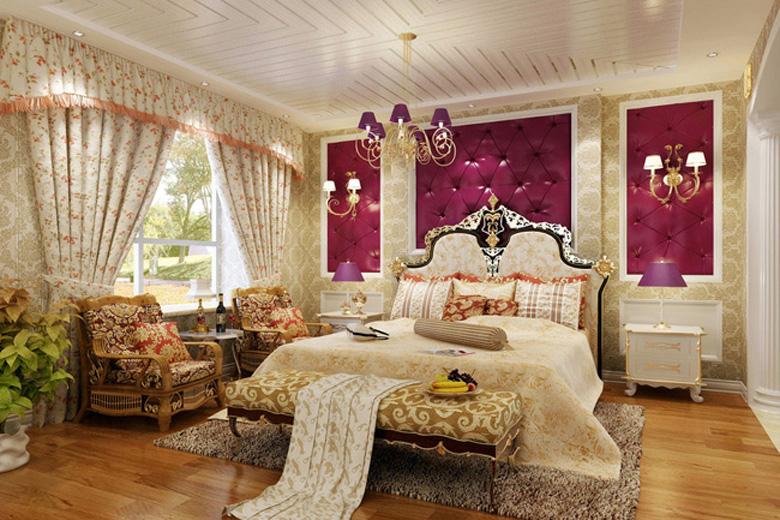 Спальня Стиль ампир в дизайне спальни
