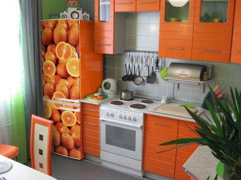 украшаем холодильник