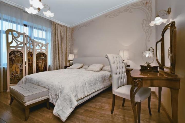 Дизайн спальни - модерн