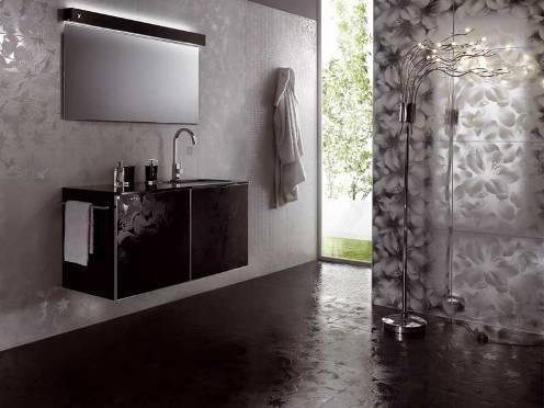ванная в стиле новая волна