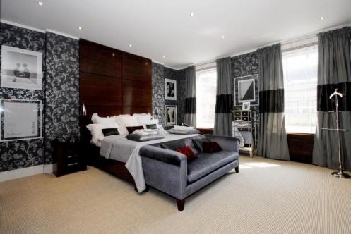 спальня в стиле новая волна