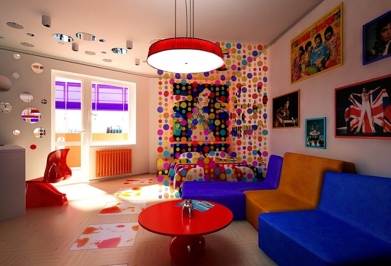Все способы декорирования стен краской своими руками Фото