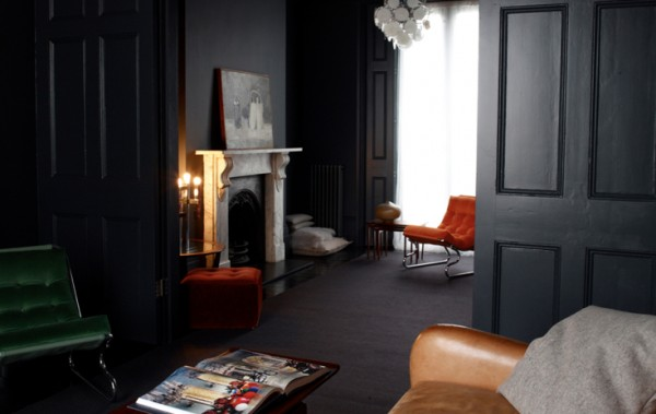дизайн мрачной комнаты