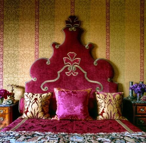 иранский стиль спальни