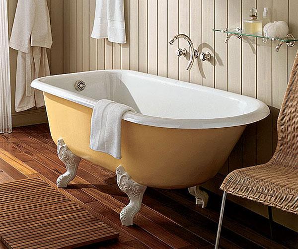 ванна из чугуна фото