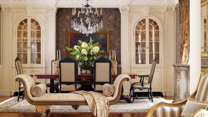 Цвет интерьера в стиле классицизм