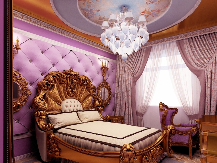 Интерьер в стиле барокко
