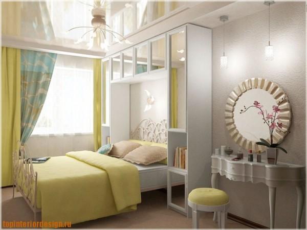 Хрущевка спальни интерьер фото