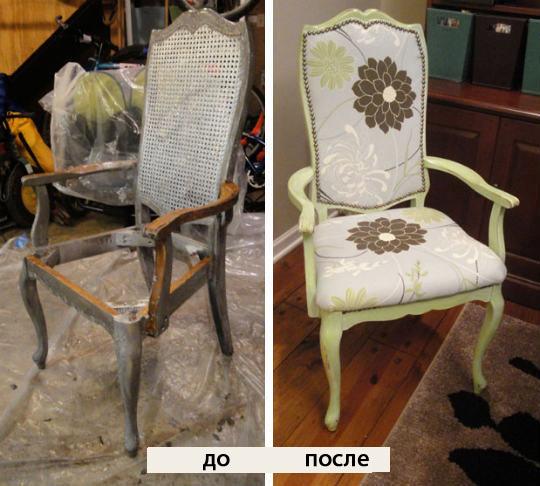 Реставрация старого стула своими руками видео