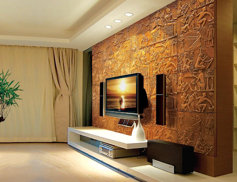стеновые панели в египетском стиле