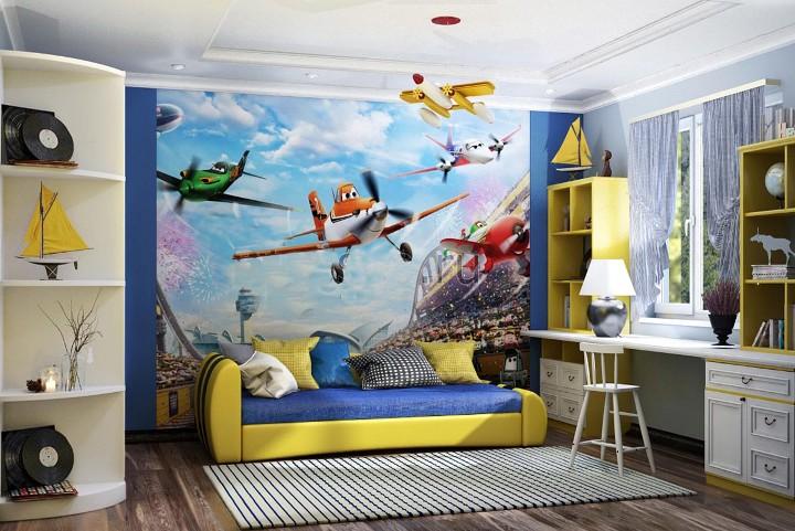 Красивая детская комната для мальчика