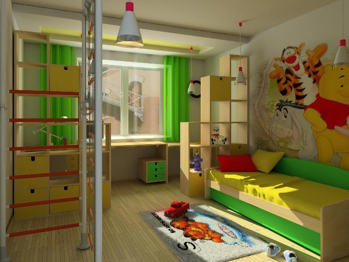 Дизайн детской комнаты для мальчика 6 лет