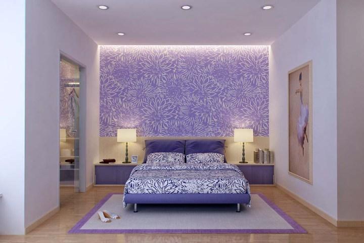 Светильники в изголовье кровати