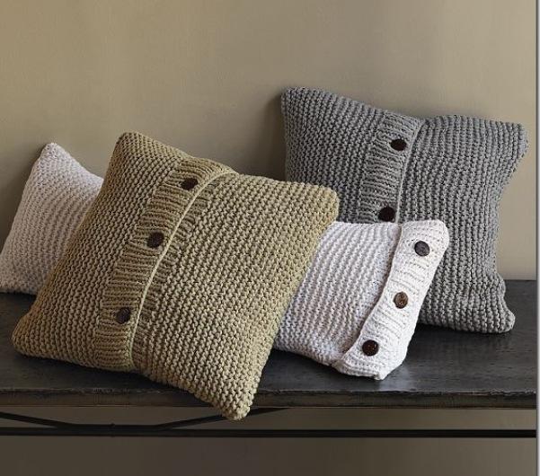 Квадратные подушки своими руками