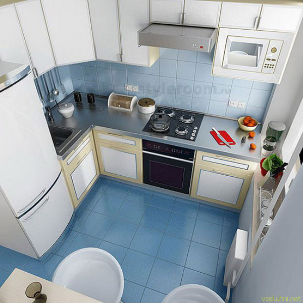 210Ремонт квартиры  потолок на кухне