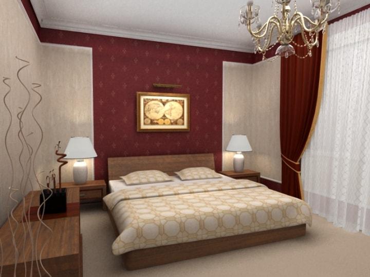 Оптимальный цвет для спальни