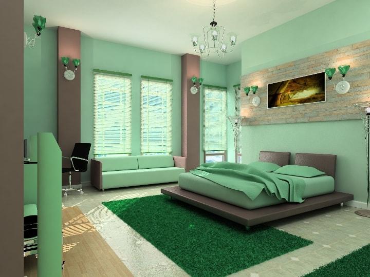 Цвет для спальни