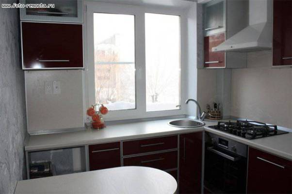 Интерьер кухня 6 метров