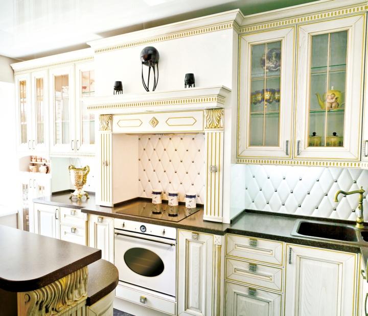 Белая кухня - классика