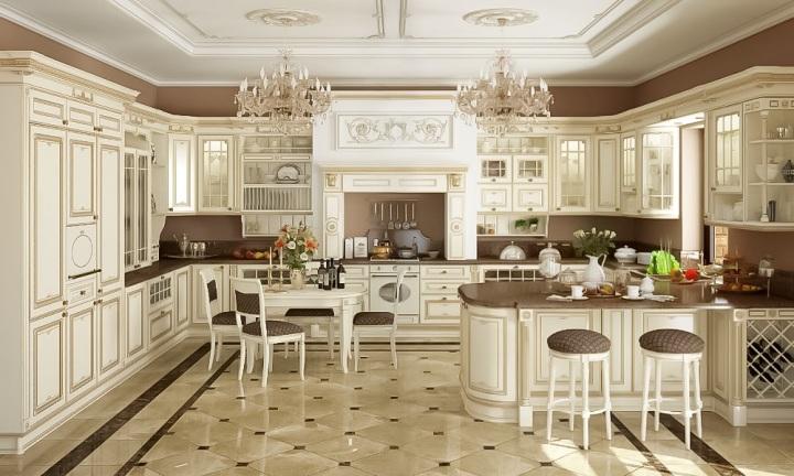 Дизайн для классической кухни 160