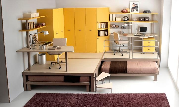 Многофункциональная мебель в маленькой квартире